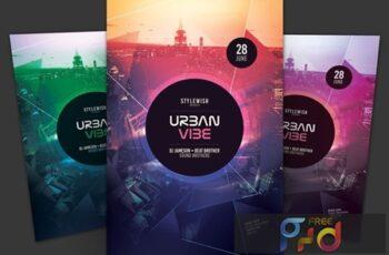 Urban Vibe Flyer UZGQDTL 4