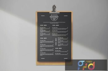 Black Restaurant Menu APA68P2 7