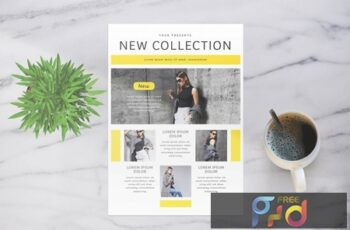 Fashion Collection Flyer XXYEKRC 5