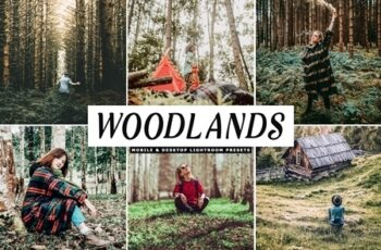 Woodlands Lightroom Presets Pack 4241350 5