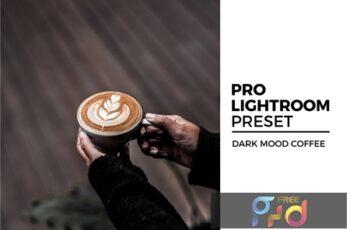 Dark Mood Coffee Lightroom Preset 8PL9VHA