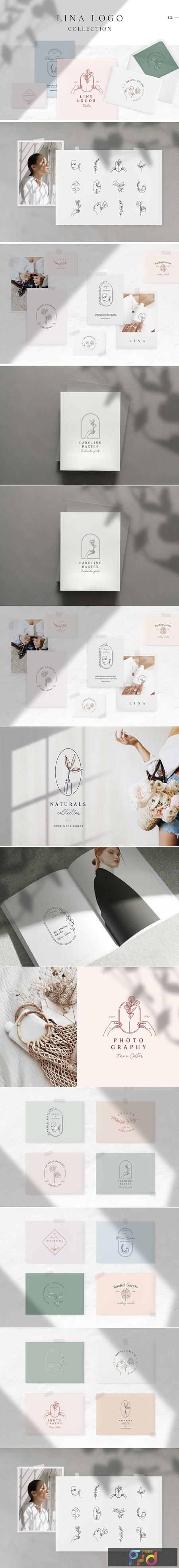 Lina Logo Collection 3805245 1