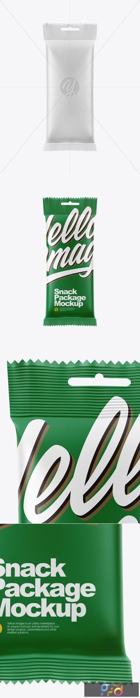 Snack Package Mockup 50390 1