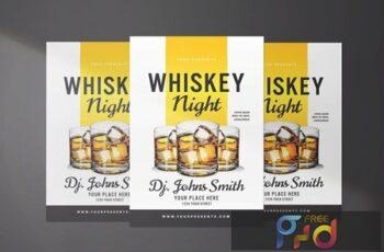 Whisky Night Flyer H3T4CJB 8