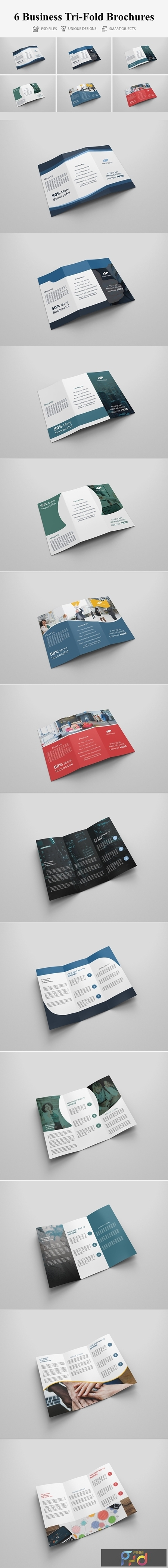 6 Business Tri-fold Brochures 4160628 1