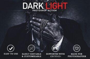 Dark Light Photoshop Action 24882595 7