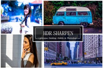 HDR SHARPEN - (Mobile,Photoshop&LR) 4190655 4
