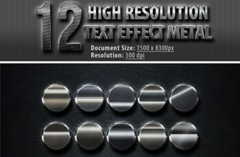 12 High Resolution Photoshop text Effect 23354342 2