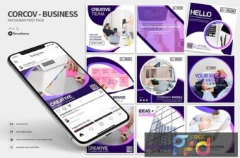 Corcov - Business Instagram Post Pack J72A3PM 7