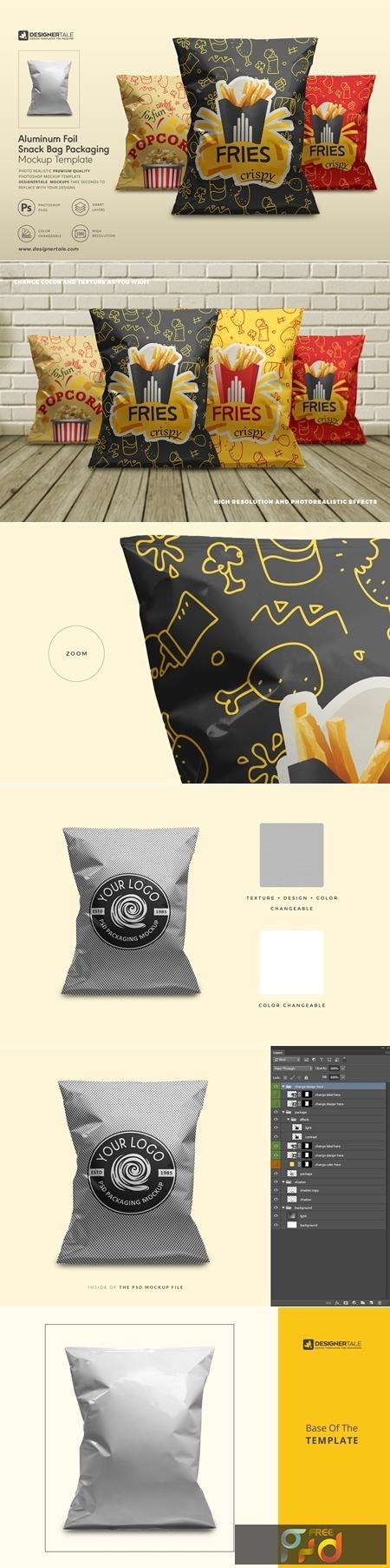 Foil Snack Bag Packaging Mockup 4151690 1