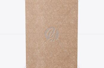 Kraft Paper Box Mockup - Side View 50517 8