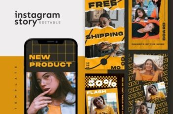 Instagram Story Template 1915927 8