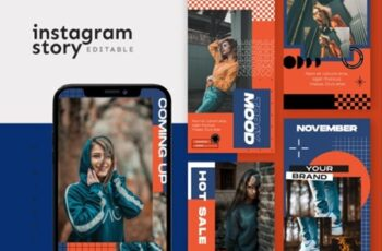 Instagram Story Template - Tavel Brush Design 37VEURL 10