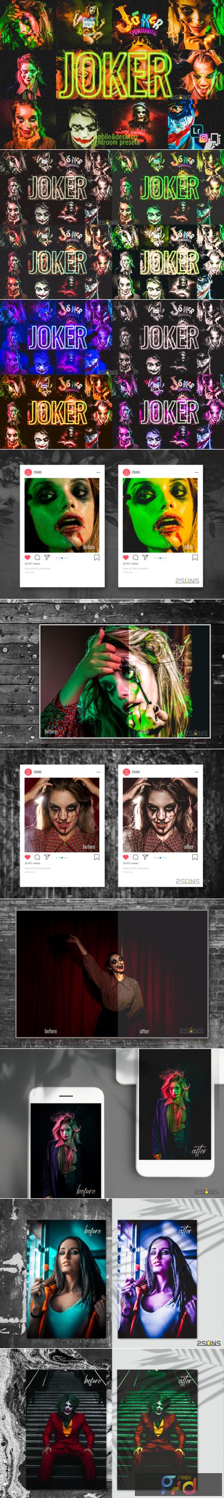 9 Joker Presets, Halloween Presets Dng 1949006 1