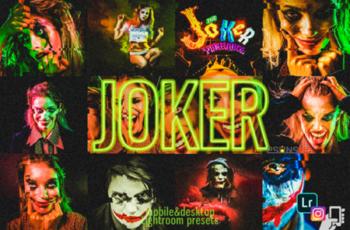 9 Joker Presets, Halloween Presets Dng 1949006 5