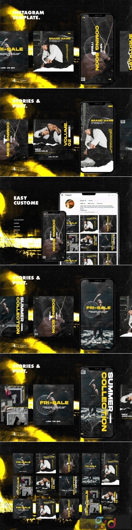 Instagram Template Vol.7 1915902 1