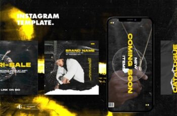 Instagram Story Template - Tavel Brush Design 37VEURL 5