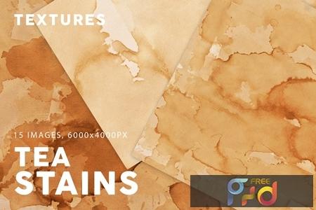 Tea Stains Paper Textures 4PRDVMK 1