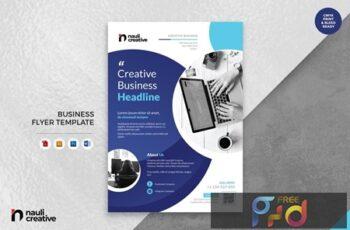 Corporate Business Flyer AI, DOC, & AI Vol.2 SLUF5XQ 4
