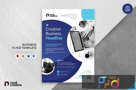 Corporate Business Flyer AI, DOC, & AI Vol.2 SLUF5XQ 1