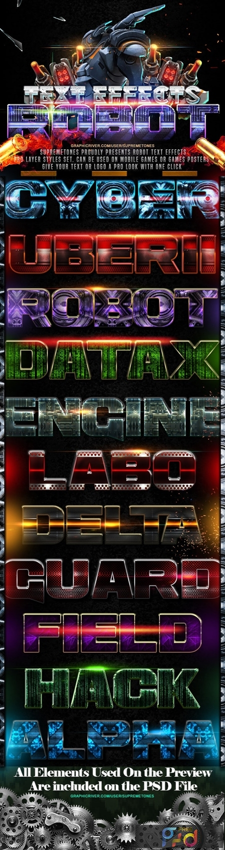 Robot Photoshop Text Effects 24697627 1
