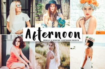 Afternoon Mobile & Desktop Lightroom Presets 379055 3