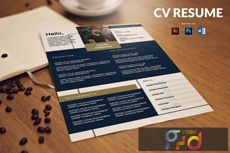 CV Resume Minimal And Clean 8VBBQVT 1