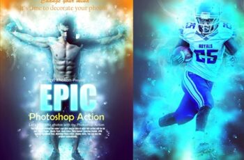 Epic Photoshop Action 3707035 5