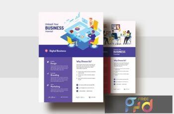 Digital Agency & Business AD Flyer V-29 HCHXG5Z 3