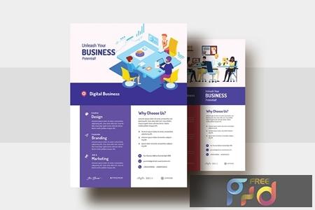 Digital Agency & Business AD Flyer V-29 HCHXG5Z 1