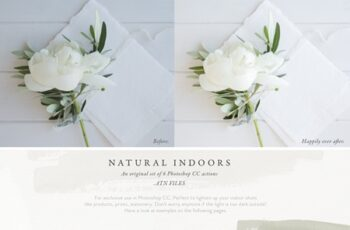 Photoshop Actions - Natural Indoors 3727992 8