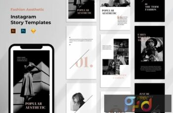 Instagram Story Template - Tavel Brush Design 37VEURL 2
