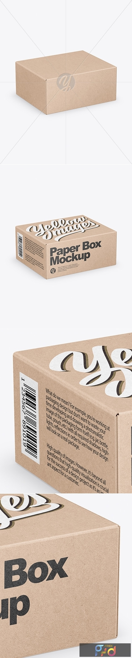 Kraft Box Mockup 50629 1