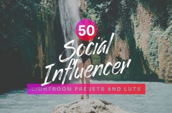 50 Social Influencer Lightroom Presets LUTs 4271351 2