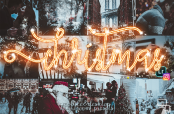 Christmas Presets Winter Lightroom 1997311 5