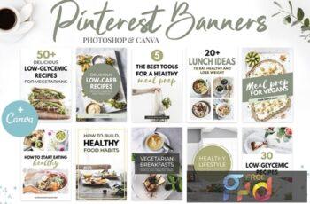 Canva Pinterest Templates V.3 MUEAF8G 6