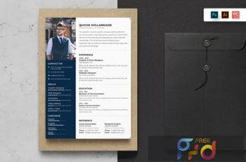 Resume CV Template-60 BYLG6NV 2
