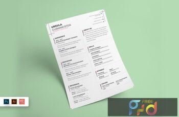 Resume CV Template-61 KBVJ94X 5