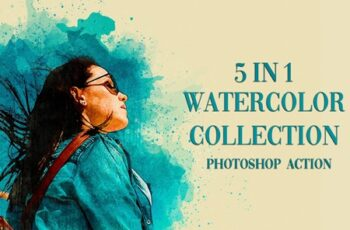 5 in 1 Watercolor Collection Bundle 4190294 7