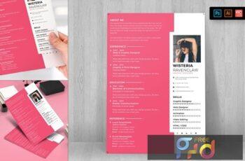 Resume CV Template-62 ZAUYRVV 6