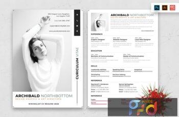 Resume CV Template-63 7RSDBW3 5