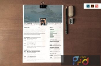 Resume CV Template-64 N5JD6MQ 2
