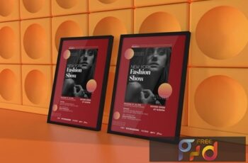 Fashion Show Flyer Template X9QK7C5 5