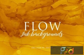 Flow Ink Backgrounds W5E8M5E 7