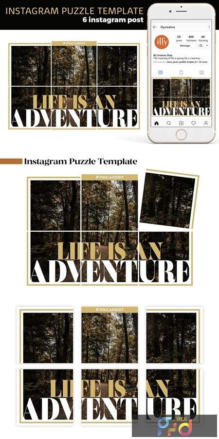 Instagram Puzzle Template 4186903 1