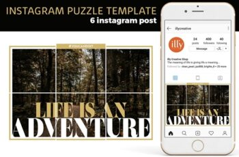 Instagram Puzzle Template 4186903 5