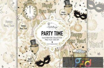 Party Time design 2KTFYHH 4