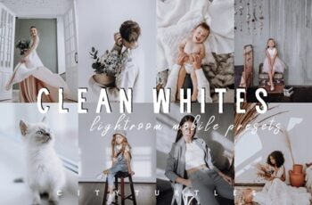 Bright CLEAN WHITES Mobile Presets 4269292 2