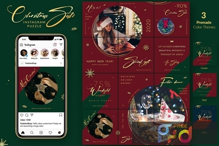 Christmas Puzzle - Instagram Posts YG22GSQ 1