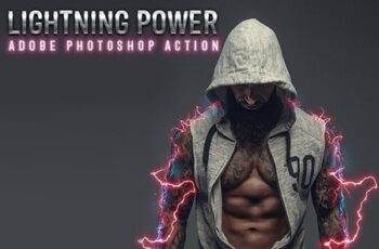 Lightning Power Photoshop Action 24774308 5